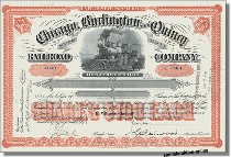 Chicago, Burlington and Quincy Railroad Company