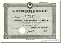 Maschinenfabrik Turner Aktiengesellschaft