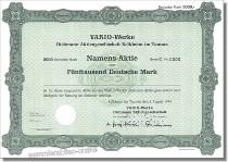 Vario-Werke Dichmann Aktiengesellschaft