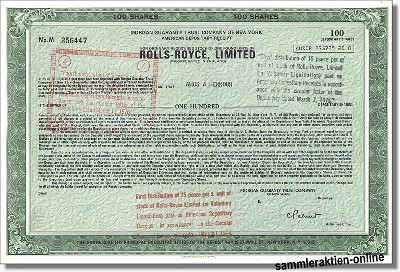 Rolls Royce Limited