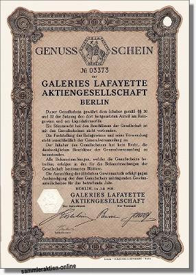 Galeries Lafayette AG