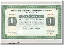 Deutsche Kapitalanlanlagegesellschaft - Geodeka
