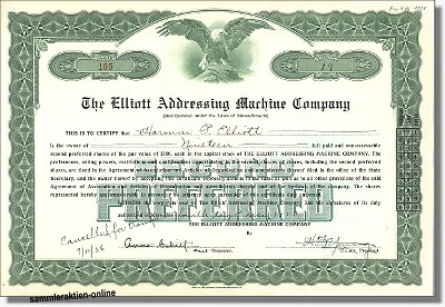 Elliott Adressing Machine Company