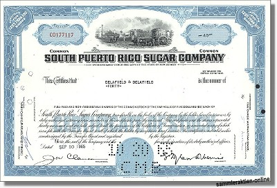 South Puerto Rico Sugar Company