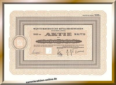 WMF Württembergische Metallwarenfabrik