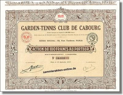 Garden Tennis Club de Cabourg