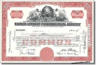 Warner Lambert Pharmaceutical Company