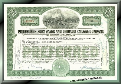 Pittsburgh, Fort Wayne & Chicago Railway Company