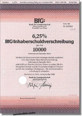 BFG Bank für Gemeinwirtschaft AG