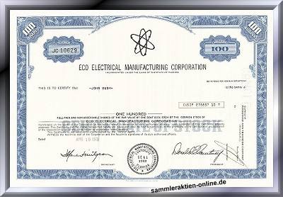 Eco Eletrical Manufacturing