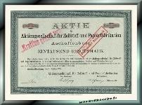 AG für Zellstoff- und Papierfabrikation (PWA)