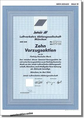 Jetair Luftverkehrs Aktiengesellschaft