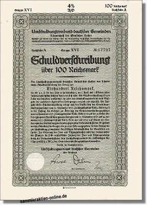 Umschuldungsverband deutscher Gemeinden