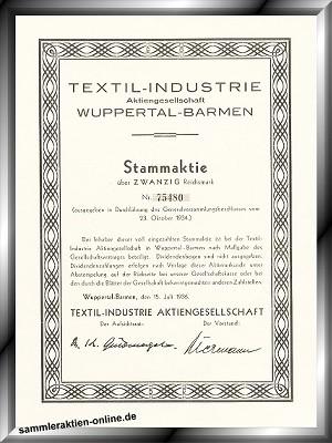Textil-Industrie AG