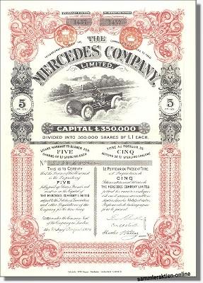 Mercedes Company Ltd.