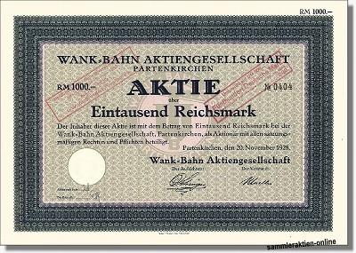 Wank Bahn AG