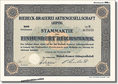 Riebeck-Brauerei AG