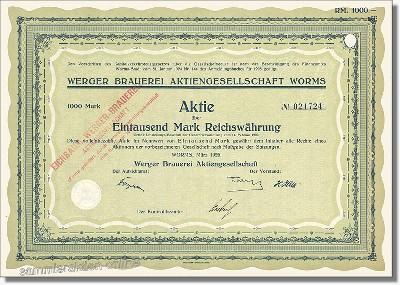 Werger Brauerei AG - Eichbaum-Werger Brauerei