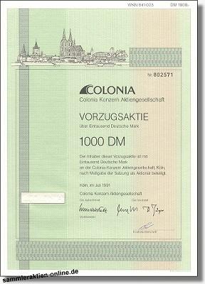Colonia Konzern Aktiengesellschaft