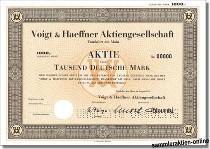 Voigt & Haeffner Aktiengesellschaft