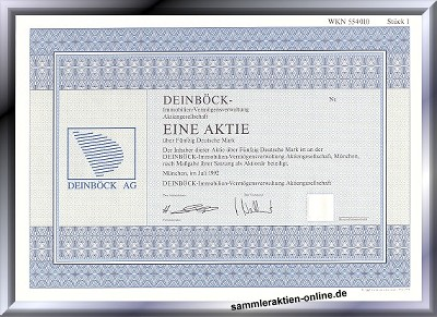 Deinböck Immobilien-Vermögensverwaltung AG