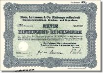 Hein, Lehmann & Co. Aktiengesellschaft, Eisenkonstruktionen, Brücken- und Signalbau