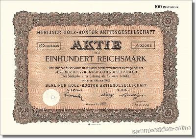 Berliner Holz-Kontor Aktiengesellschaft