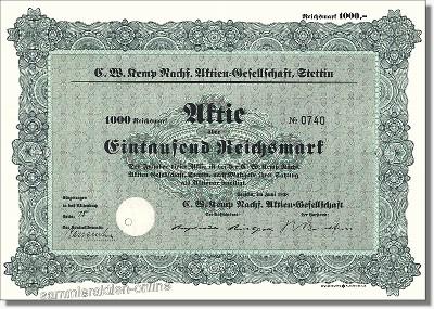 C. W. Kemp Nachf. Aktiengesellschaft