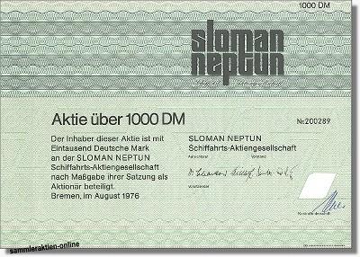 Sloman Neptun Schiffahrts-Aktiengesellschaft
