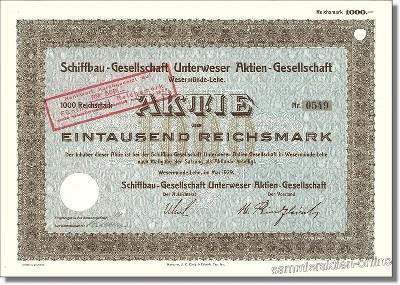 Schiffbau-Gesellschaft Unterweser AG