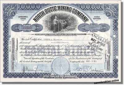 North Butte Mining Company
