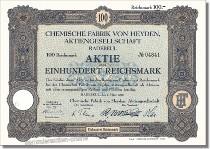 Chemische Fabrik von Heyden AG