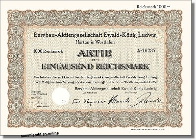 Bergbau-Aktiengesellschaft Ewald-König Ludwig