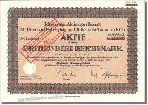 Rheinische Aktienges. für Braunkohlenbergbau und Brikettfabrikation - RWE