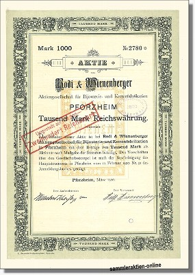 Rodi & Wienenberger AG für Bijouterie- und Kettenfabrikation