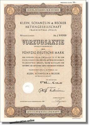Klein, Schanzlin & Becker AG - KSB