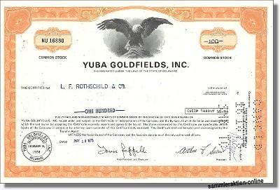 Yuba Goldfields Inc.