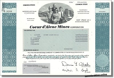 Coeur d' Alene Mines Corporation - Coeur Mining