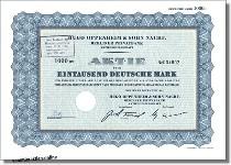 Hugo Oppenheim & Sohn Nachf. Berliner Privatbank