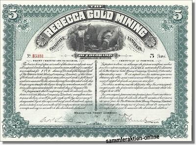 Rebecca Gold Mining Company Ltd.