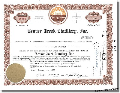 Beaver Creek Distillery Inc.