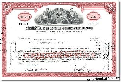 American Radiator & Standard Sanitary Corporation