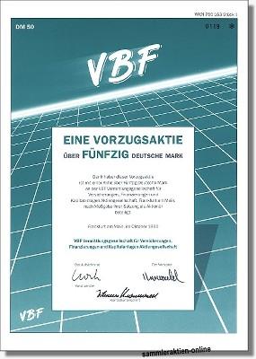 VBF Vermittlungsgesellschaft AG
