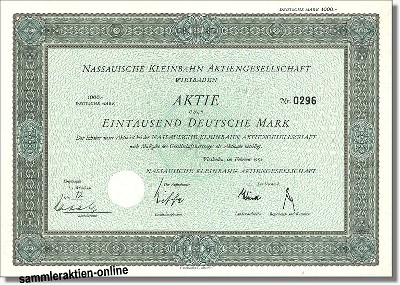 Nassauische Kleinbahn Aktiengesellschaft