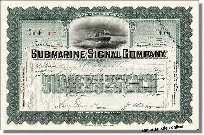 Submarine Signal Company