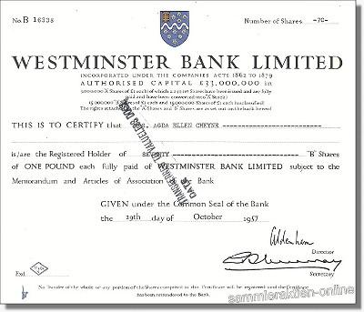 Westminster Bank Ltd.