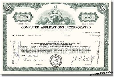 Computer Applications Inc.