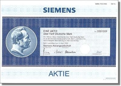 Siemens AG - Dekodruck, Nachdruck