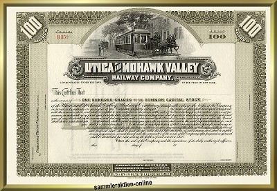 Utica and Mohawk Valley Railway Company