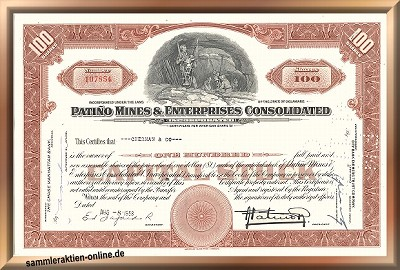 Patino Mines & Enterprises Consolidated